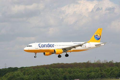 Condor final approach Flugzeug und Luftfahrt