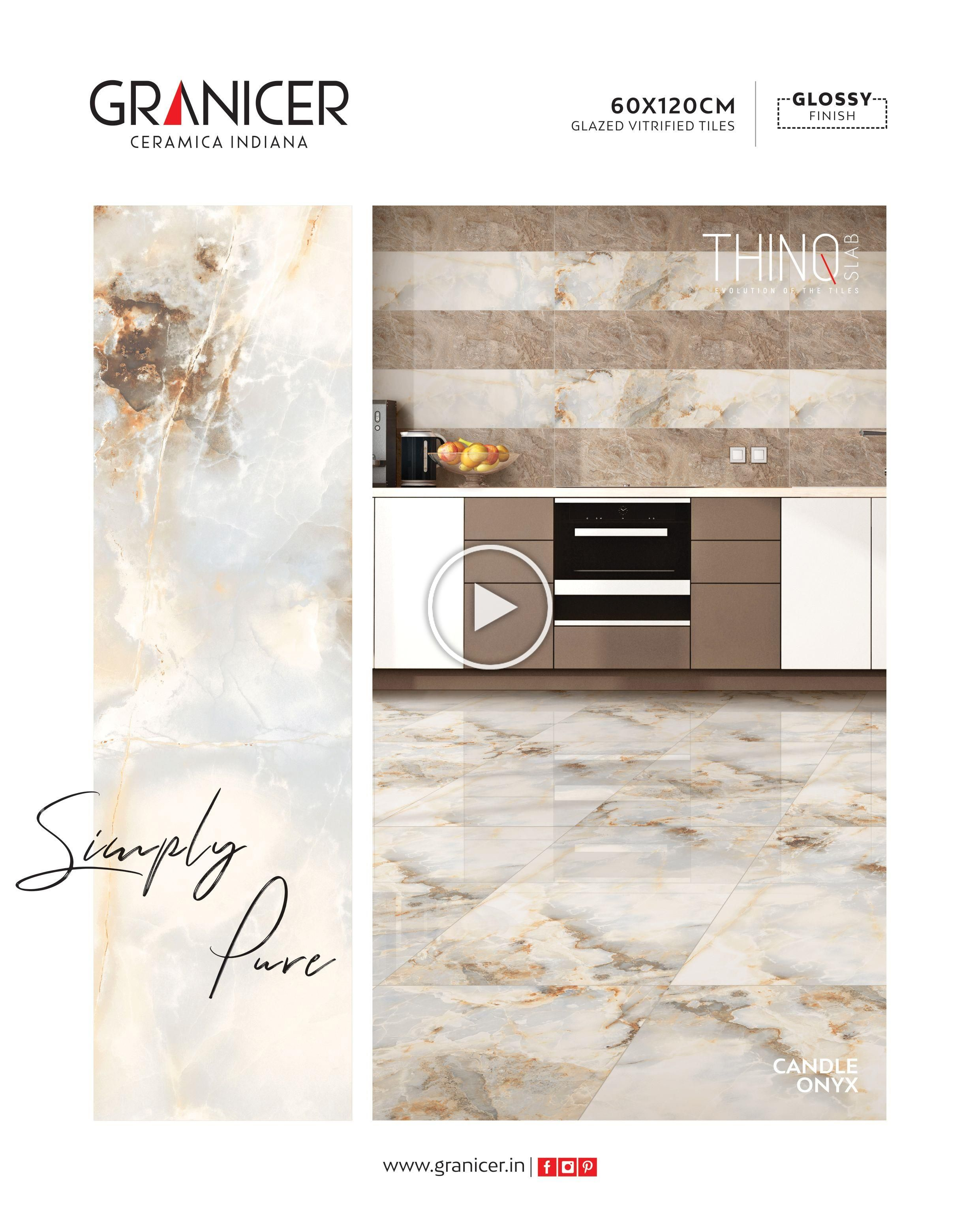 Art Comes In All Forms Choose Our Spectacular Aesthetic Tiles For Your Space Candle Onyx Granicerceramicaindia In 2020 Vitrified Tiles Tile Design Beautiful Tile