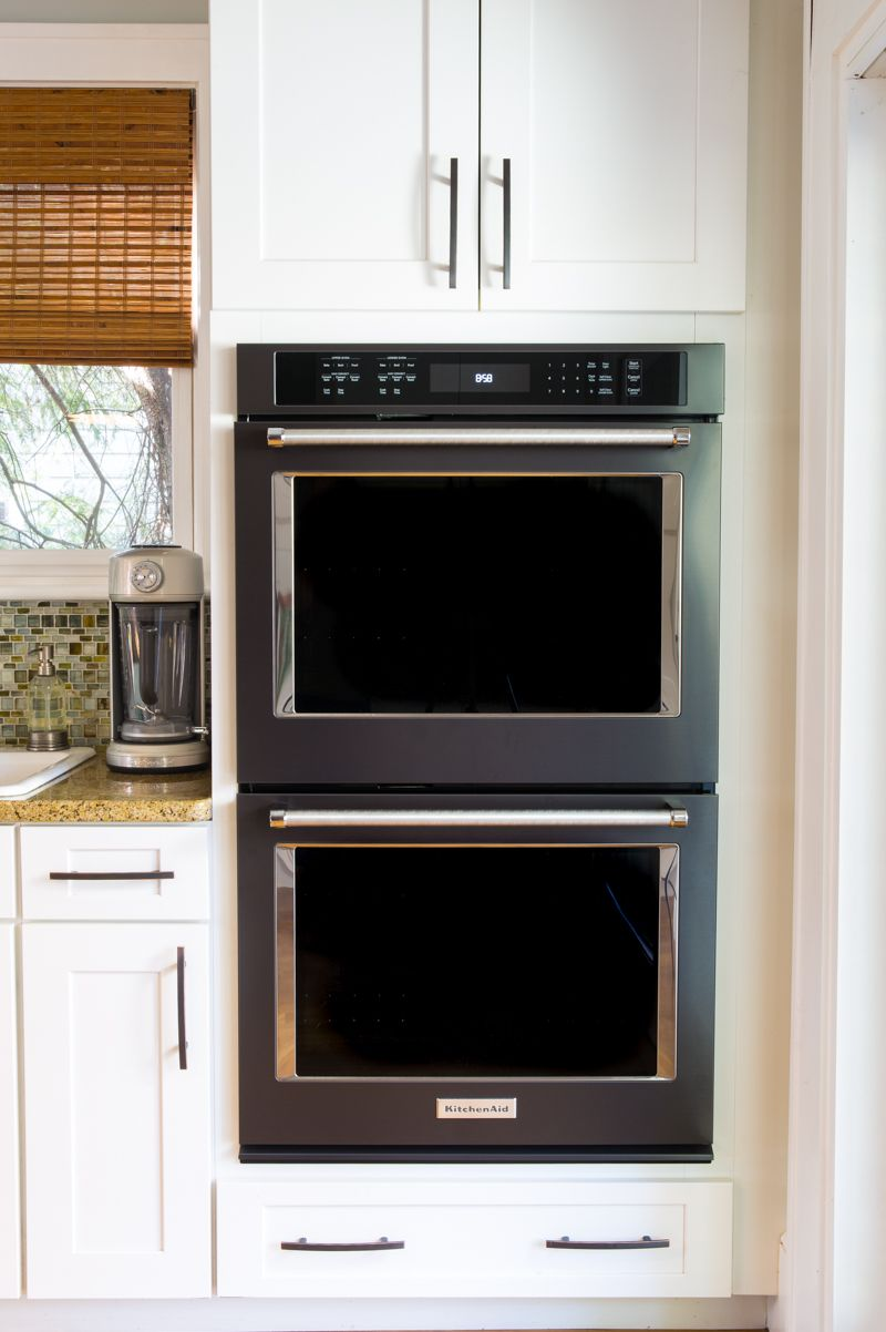 Black Stainless Kitchen Makeover Stainless Kitchen