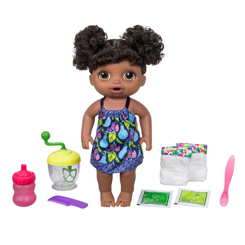 Baby Alive Sweet Spoonfuls Baby Doll Girl African