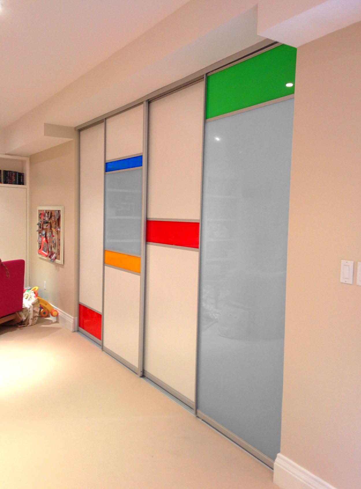 Image Result For Back Painted Glass Wardrobe Designs