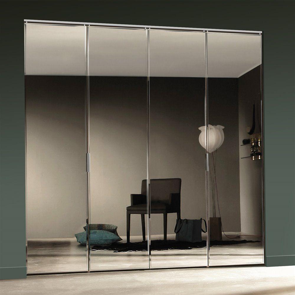 20 Best Closet Door Ideas That Won The Internet Stylish Design Mirrored Bifold Closet Doors Mirrored Wardrobe Doors Bifold Closet Doors