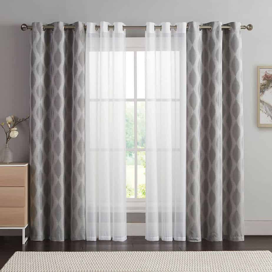 Luxurious Curtain Ideas 2021 Abstract Pattern And Lines Window Curtain Designs Window Curtains Living Room Living Room Decor Curtains