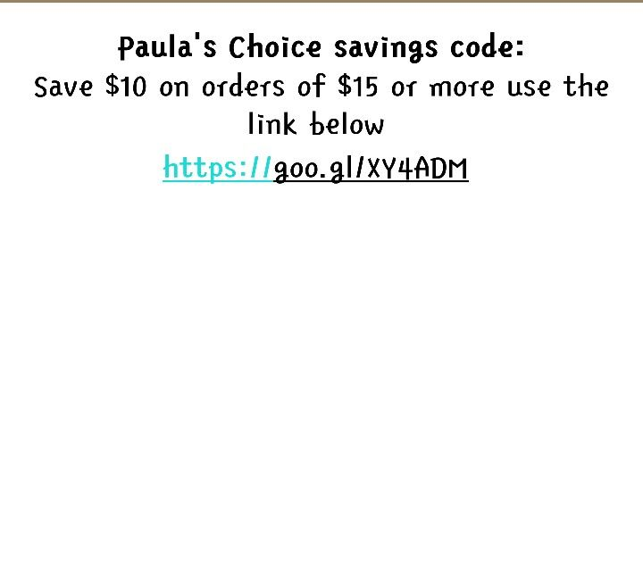 Paulaschoice Com Promo Code Paulas Choice Coding Skin Care