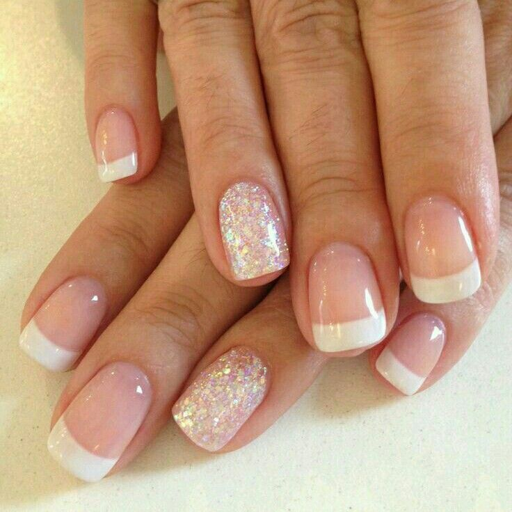 Nails french | Nails | Pinterest | Nail french, Manicure and Makeup