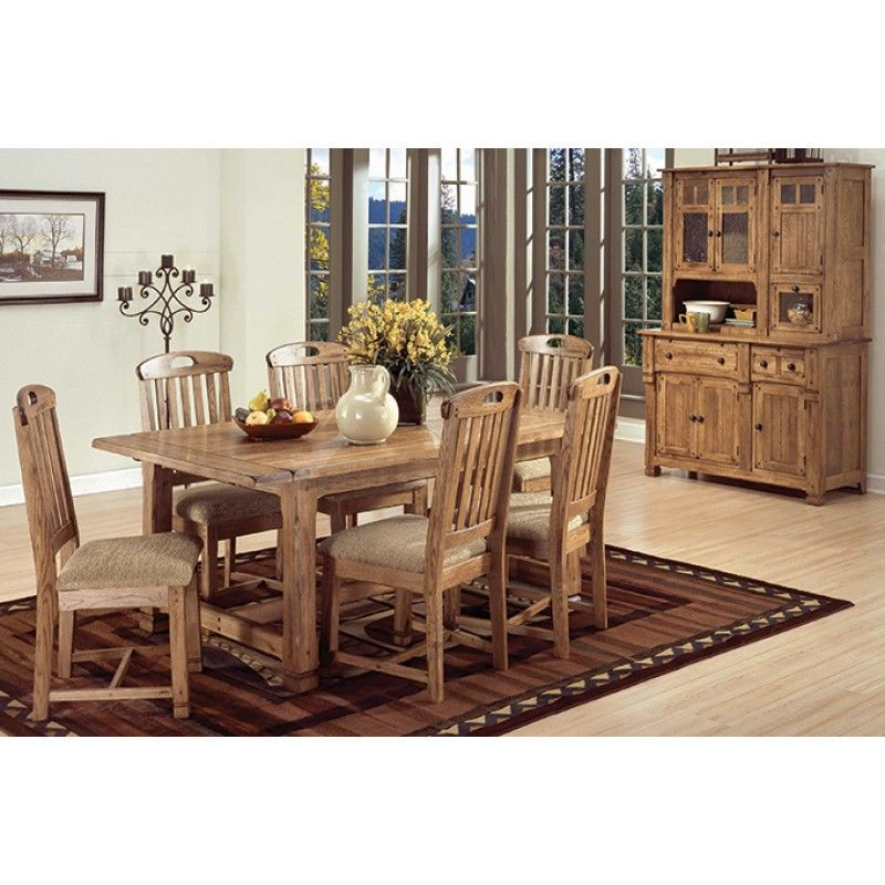 Sedona Extension Dining Table American Home Furniture And Mattress Albuquerque Santa Dining Table In Kitchen Dining Room Table Set Rustic Dining Table Set
