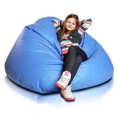 Furini Bean Bag Chair Upholstery: Sky