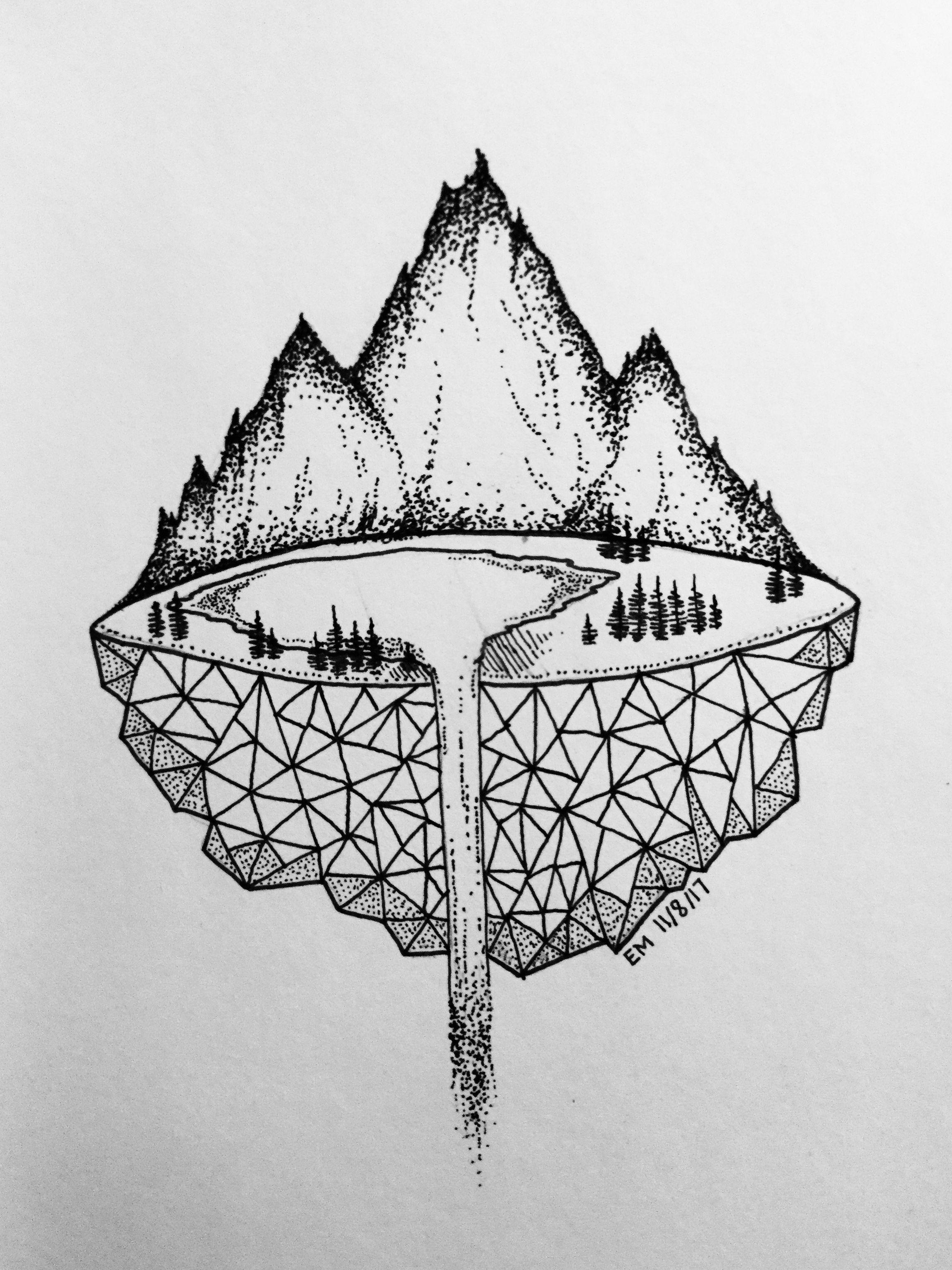 Easy Pen Drawings Doodle Art
