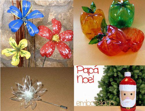 Participa en nuestro reto manualidades con botellas de - Manualidades con vasos de plastico ...