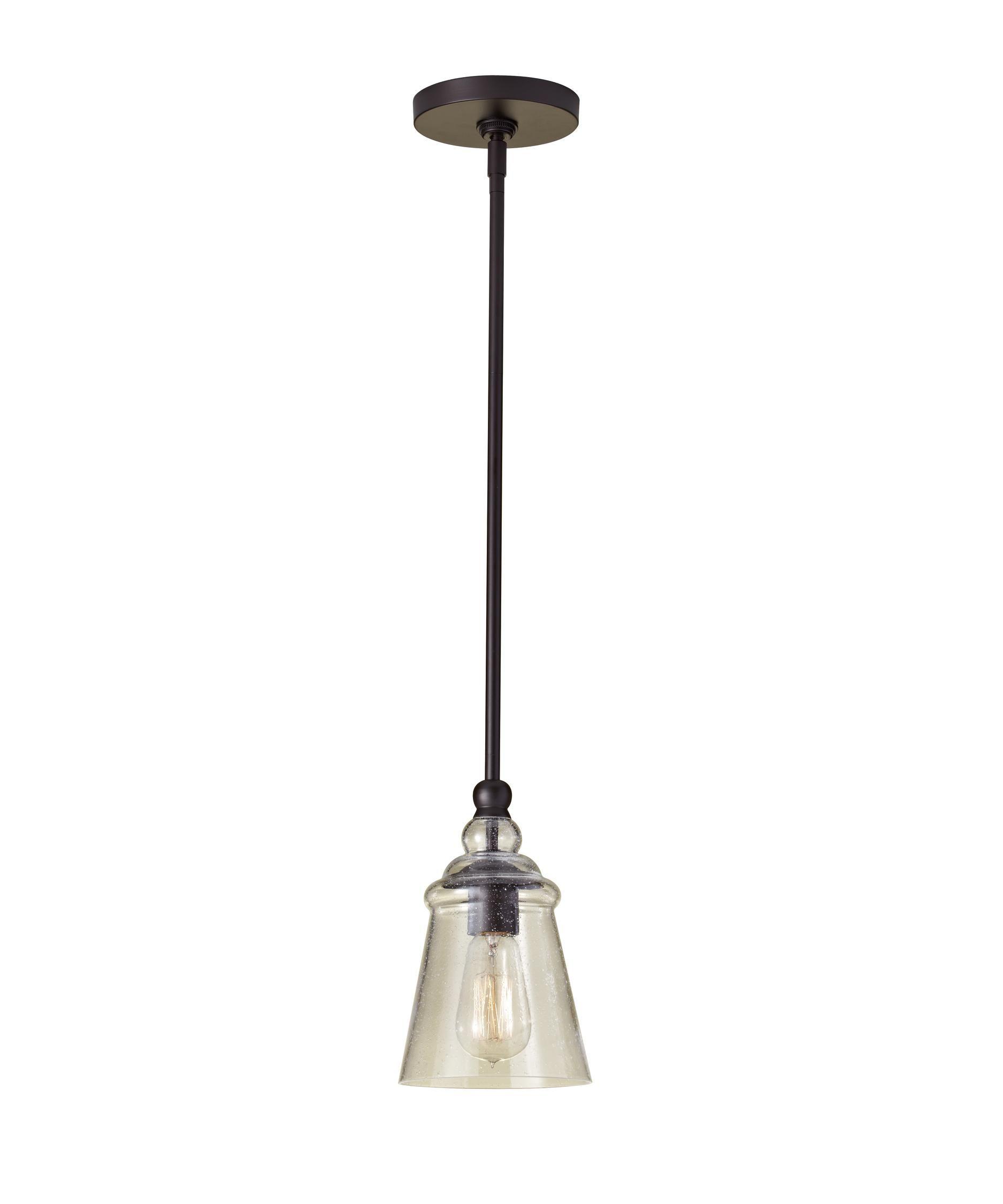 Feiss Urban Renewal 5 Inch Mini Pendant By Generation Lighting