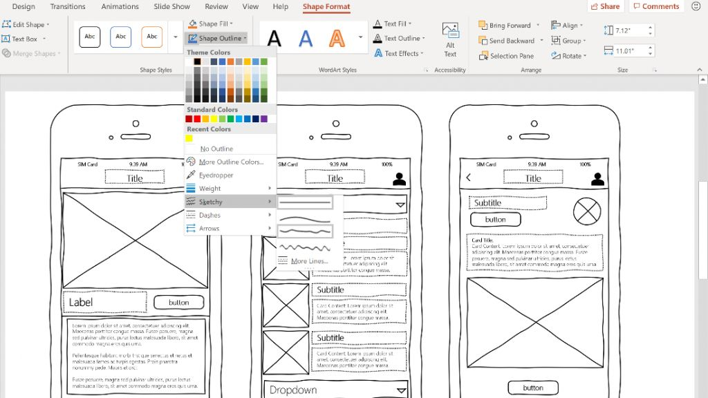 Microsoft Brings Sketchy Shapes To Office 365 For A Quick
