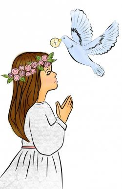 First Communion Clip Art Clip Art Thanksgiving Coloring Sheets Christian Pictures