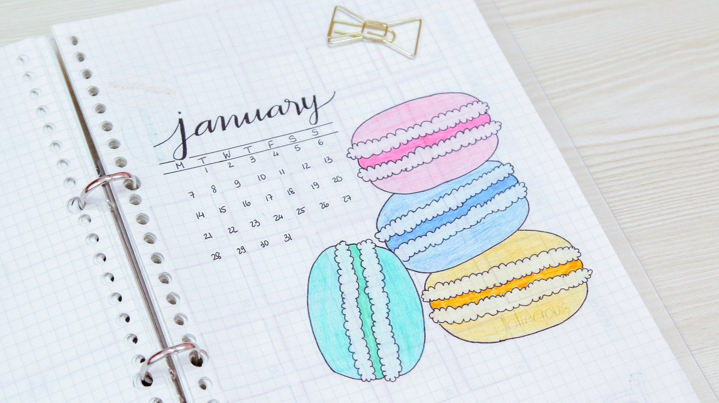 10 Sweets & Desserts Bullet Journal Themes You'll Want to Try - Joliecious