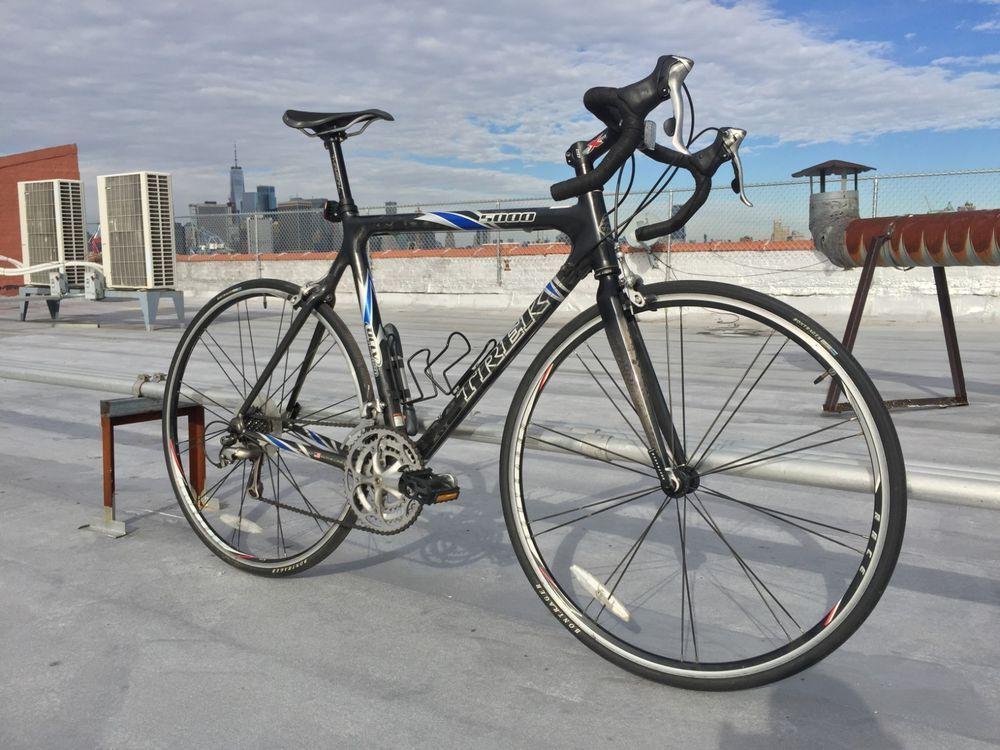 Trek 5000 Oclv Carbon Fiber Road Bike 58 7cm Custom Usa Built Shimano Ultegra Road Bike Usa Customs Bicycle
