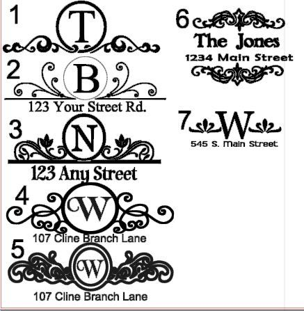 Vinyl Decals For A Mailbox Free Vinyl Decals Mailbox Design Mailbox Decals