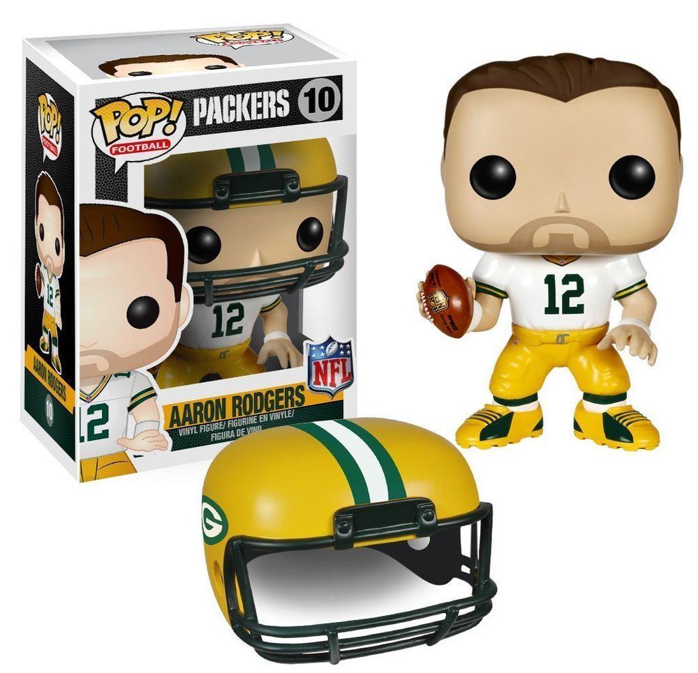 Funko POP! NFL Wave 2 Green Bay Packers AARON RODGERS 10