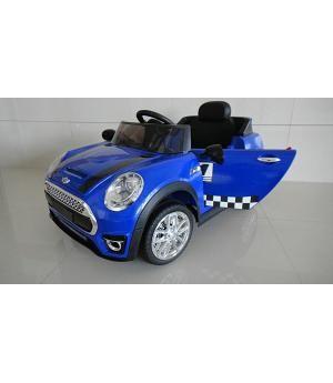 Oferta Coche Electrico Infantil Mini Style Azul Coche Para Ninos