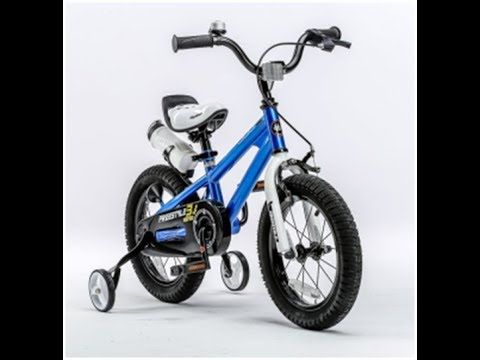 Royalbaby Bmx Freestyle Kids Bikes Blue In 12 Inch From Best In