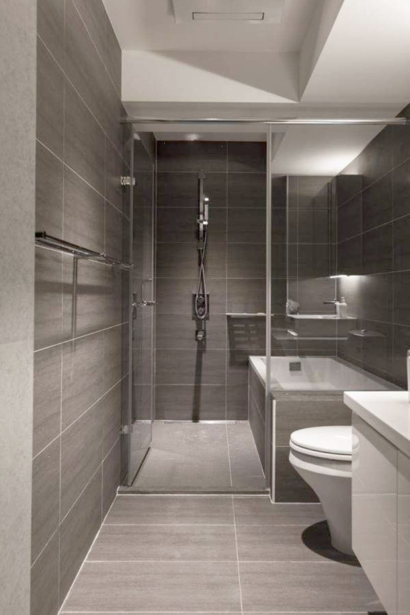 Modern Walk In Shower Designs With Virtuel Reel Slate Tiles And Modern Bathroom Best Bathroom Designs Modern Small Bathrooms Bathroom Design Small