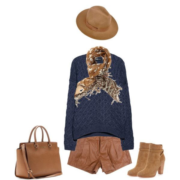 """My camel hat"" by lenaick on Polyvore"