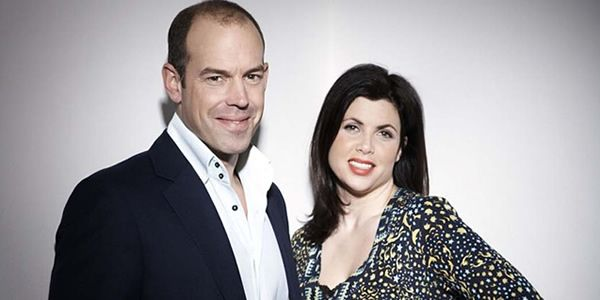 Phil Spencer and Kirstie Allsopp from Location Location Location awesome duo