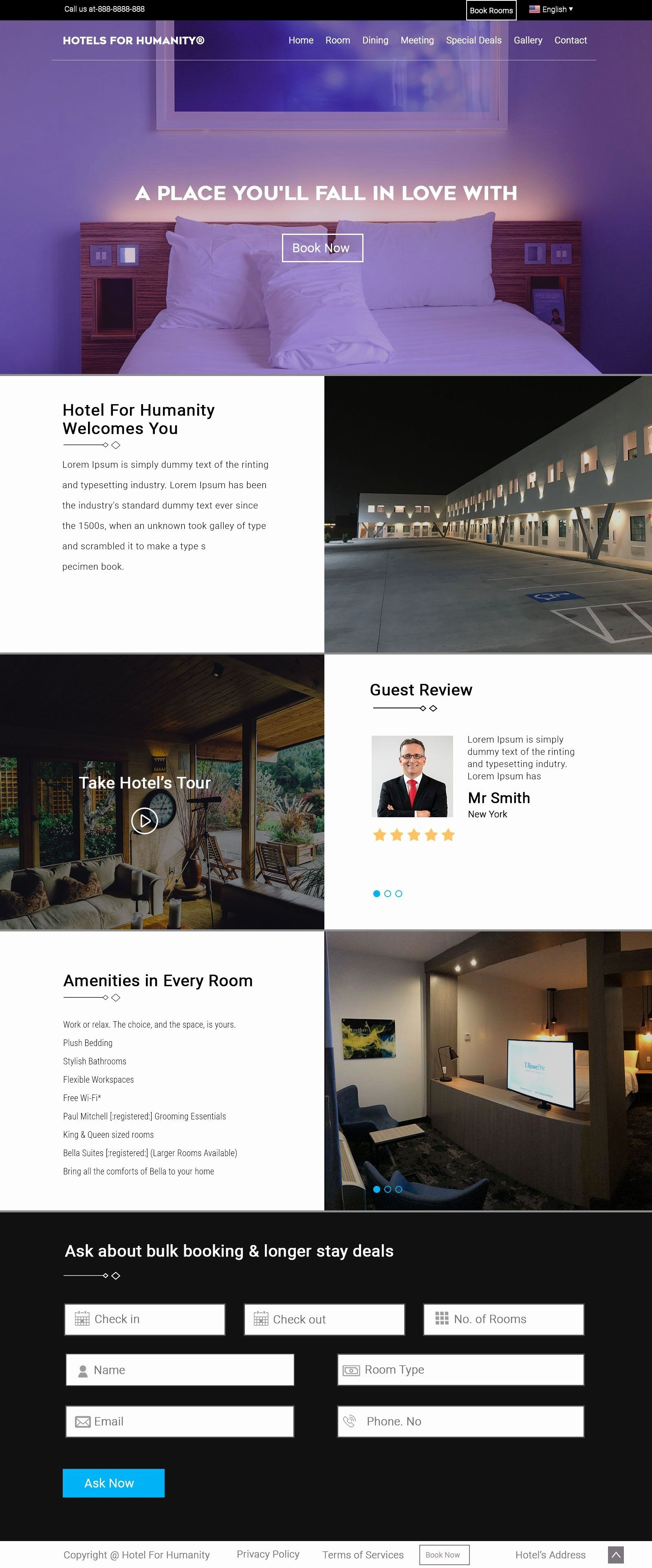 Responsive Web Design Html Template Free Download In 2020 Web Design Templates Free Hotel Website Design Website Design Free