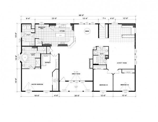 golden west thurston manufactured homes j m homes - Golden West Homes Floor Plans