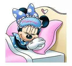 Minnie Sleeping Mickey Maus Und Freunde Walt Disney Figuren Gute Nacht