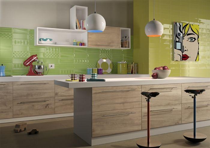 küchendeko küche aufpeppen küchendekoration küche
