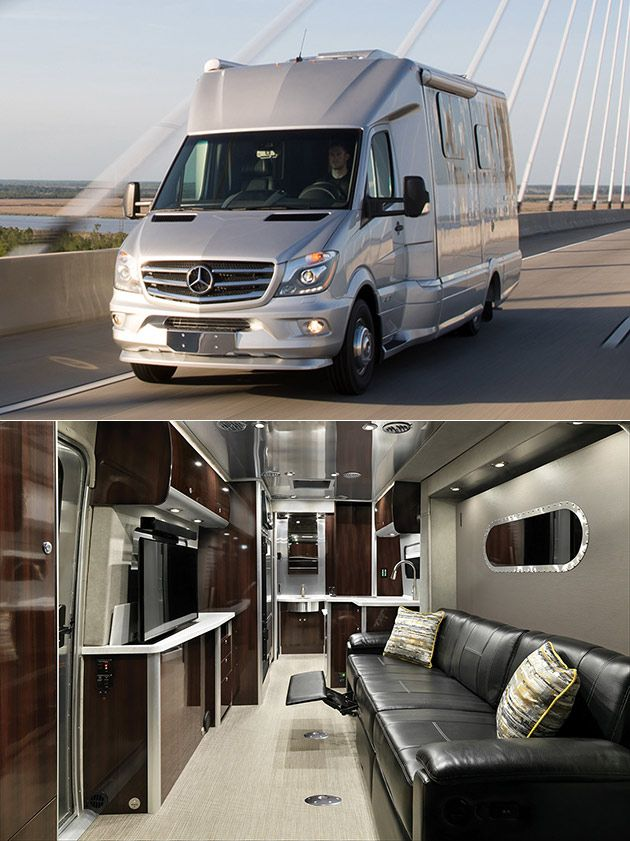Rv: Forget Giant RVs, The Airstream Atlas Is A Mobile Luxury