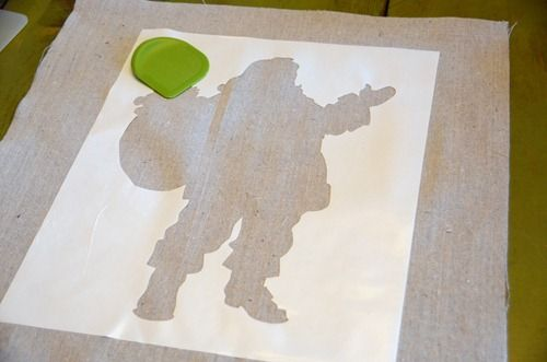 Use contact paper (Duraseal) instead of Vinyl for stencils...saves money