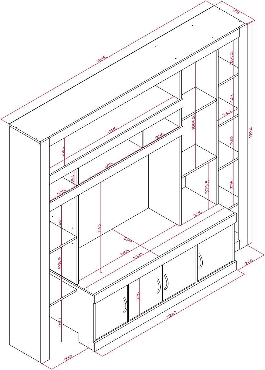 Muebles para tv mdf planos buscar con google muebles for Muebles de melamina pdf
