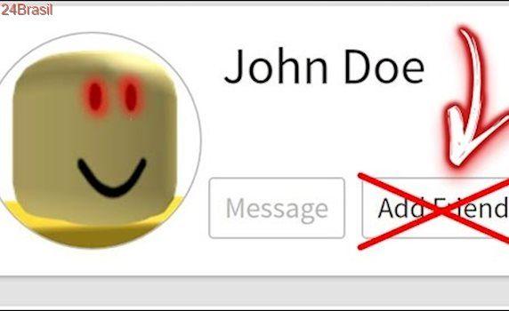 John Doe Roblox Skin Nunca Adicione John Doe Como Amigo No Roblox Caso Real Roblox John Doe Roblox Funny