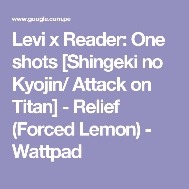 Levi x Reader: One shots [Shingeki no Kyojin/ Attack on Titan