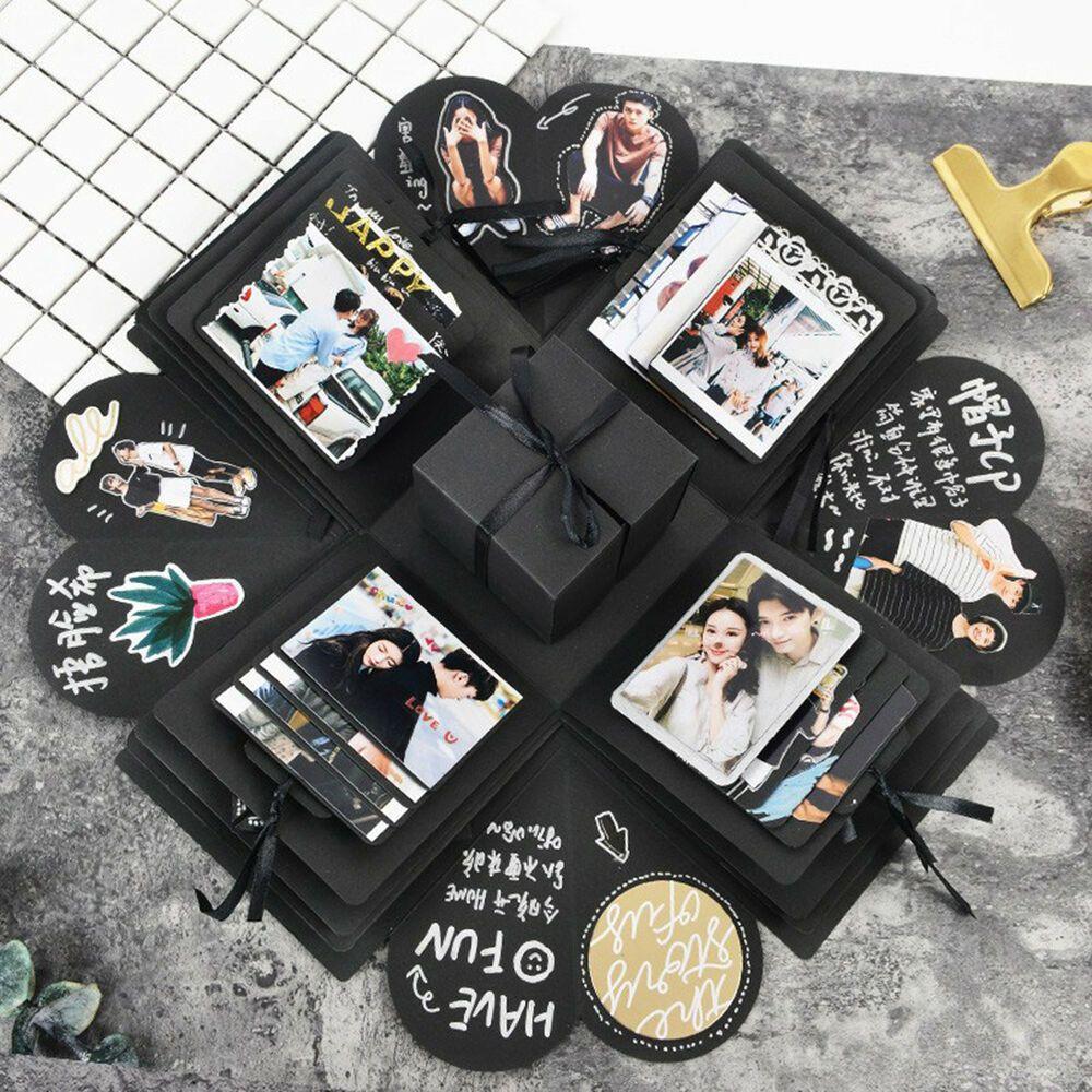 Explosion Box Scrapbooking DIY Photo Album Wed Birthday