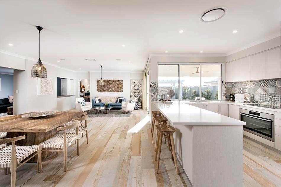 Am nager la maison une cuisine moderne au design sobre for Amenager une cuisine americaine