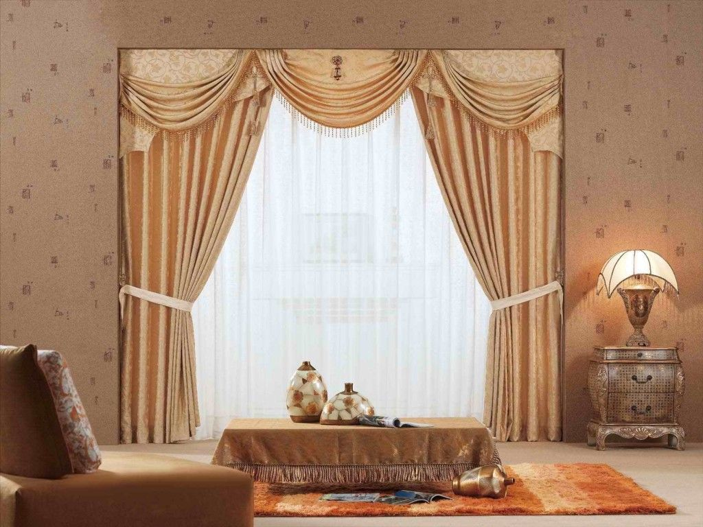 Classic curtain designs for living room - Room How To Make Curtain Designs