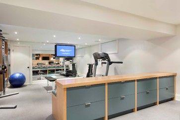 Applewood   Contemporary   Home Gym   Toronto   Meghan Carter Design Inc