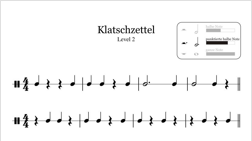 Rhythmus, Harmonie und Melodie sind die drei großen Begriffe in der ...