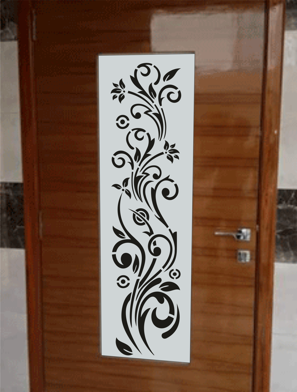 Climbing Plant Design Makerbhawan Cnc Ceilings In 2019 Wooden