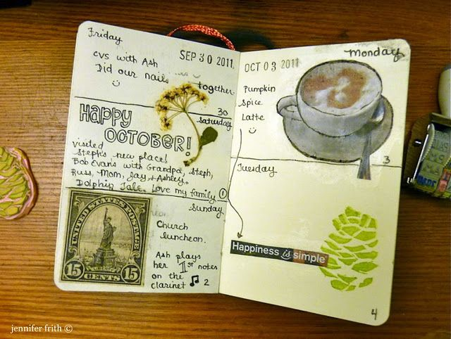Lovely little blog featuring a fun sketchbook and lots of watercolor.