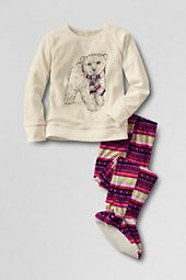 Polar bear in scart footie pajama set | Ava's Wardrobe | Pinterest ...