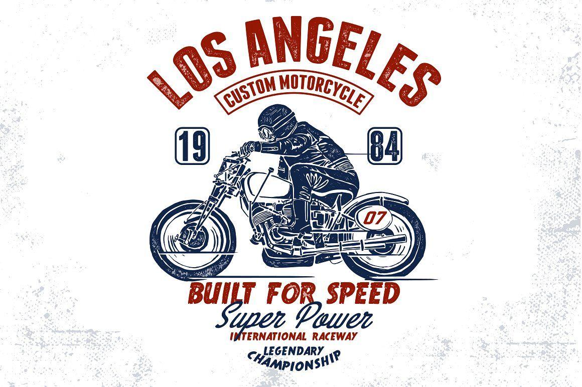 Motorcycle Design For T Shirt Tshirt Designs Retro Bike Motorcycle Design