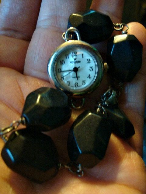 Smoothly Faceted Black Onyx Beaded Round Wrist by GoddessFindings, $42.00