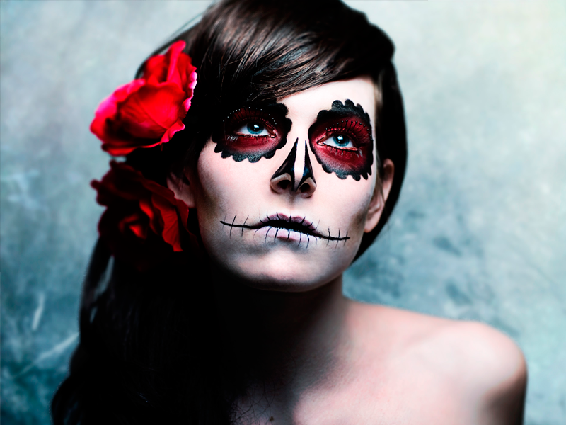 ideas de maquillaje para halloween - Como Maquillarse En Halloween