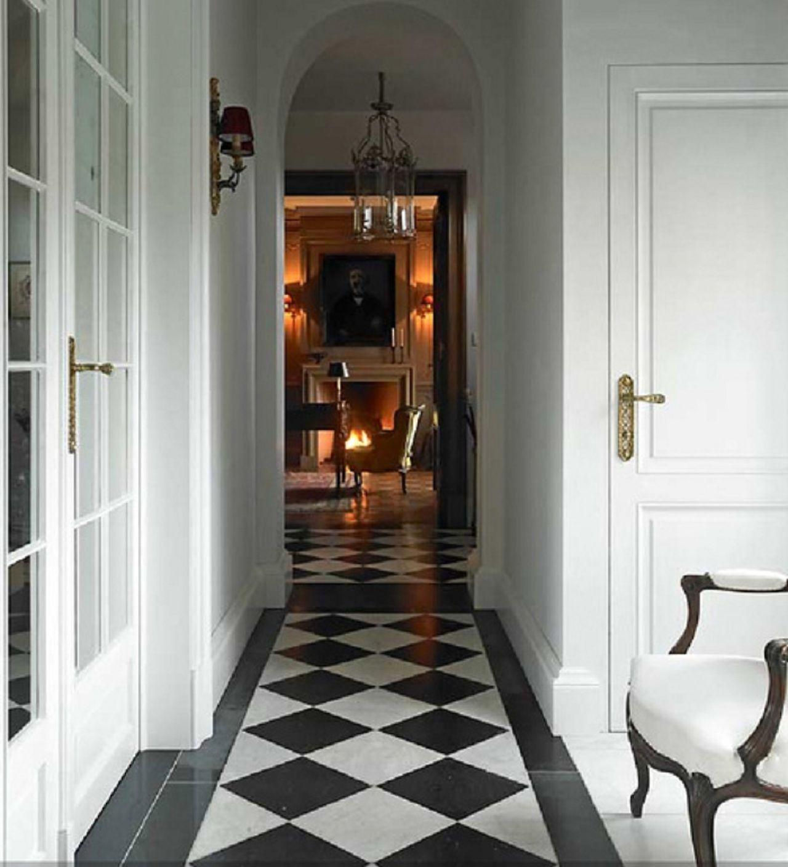 black and white tile Inspirations Pinterest White