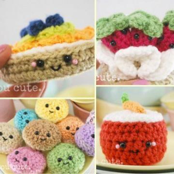 Bake Shop Collection amigurumi crochet pattern by You Cute Designs