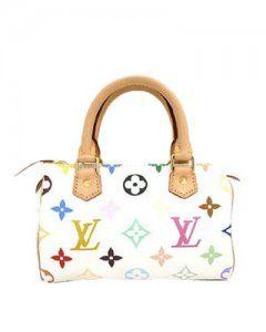 Louis Vuitton Monogram Multicolor White Mini HL M92645  3709cbff099a8