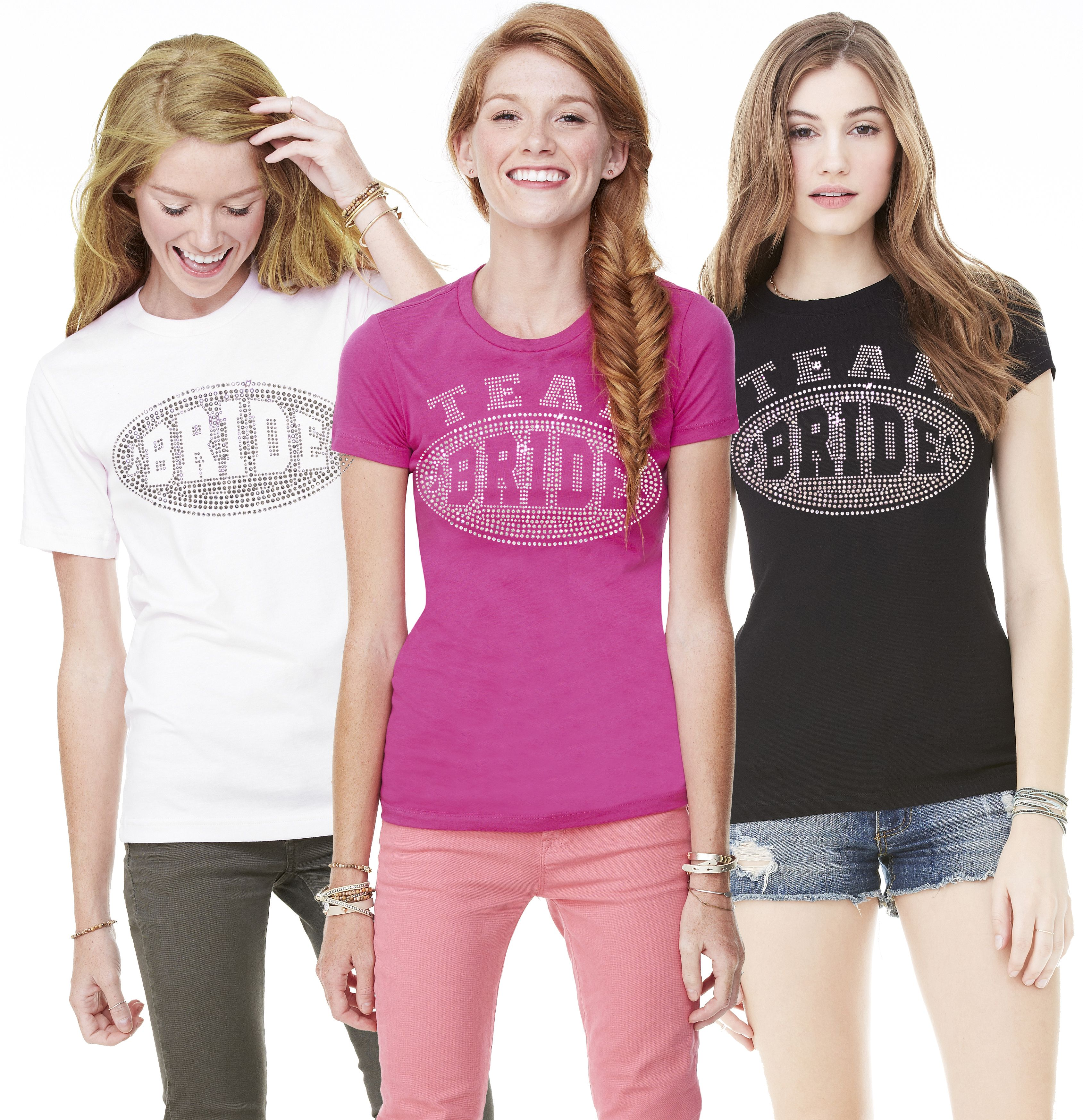 Rhinestone Sporty Team Bride Tee | Pinterest
