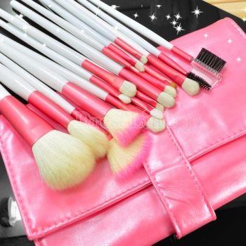 18pcs Makeup Brush Eyeshadow Brusher Set Kit With Bag Case